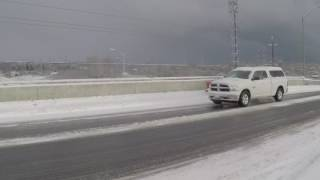 Multiple Vehicle Accidents Hwy 401 at Newcastle ON Jan 7, 2017