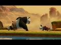 Kung Fu Panda Training Scene   HD