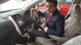 4K  super HD : NissaN Sunny CVT Automatic Depth Review @9.26 LAKH Ex Show Room, Premium Sedan