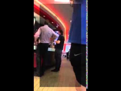 Racist Guy at Fast Food Restaurant Gets Handled | Jerry Valdez
