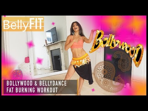 Bollywood Belly Dance Workout | Fat burning Cardio