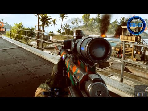 BATTLEFIELD 4 - SNIPING Multiplayer Gameplay! 10+ Minutes BF4 Sniper Online! (1080p HD PC)