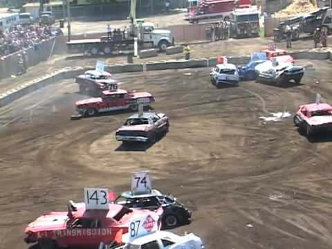 2007 demo derby at the NWWF in Lynden, WA