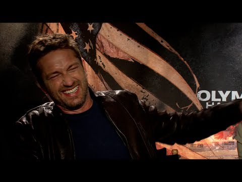 Gerard Butler Interview For Olympus Has Fallen video
