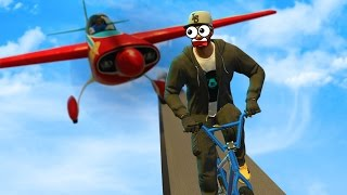 BRUTAL PLANE RAMPAGE | GTA 5 Funny Moments
