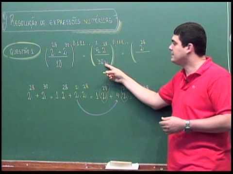 Resolução de calculos matematicos