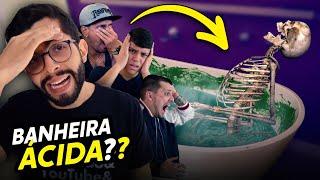 QUEM FOI PRA BANHEIRA DE SLIME NOJENTA?