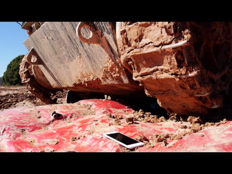 iPhone 6 Plus Crushed By Tank - Will it Survive?