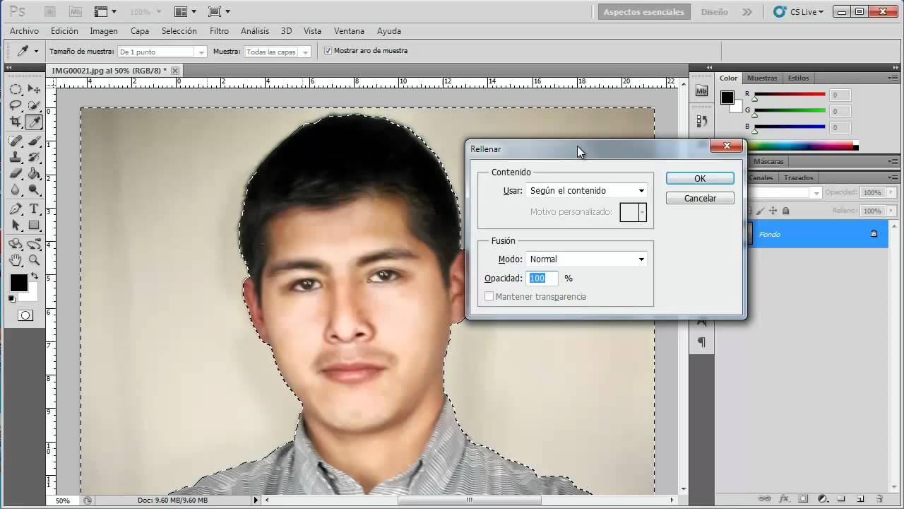 como cambiar el color de fondo de una fotograf u00eda a blanco