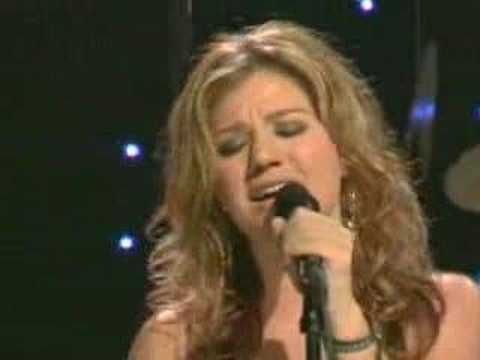 Kelly Clarkson - Because of you - Live Video