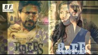 Shah Rukh Khan & Sunny Leone Item Song In Raees Movie