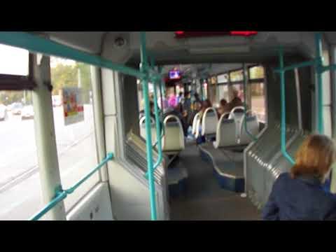 Трамвай Санкт-Петербурга 298: ЛВС-2005 б.1104 по №25 (07.10.12)