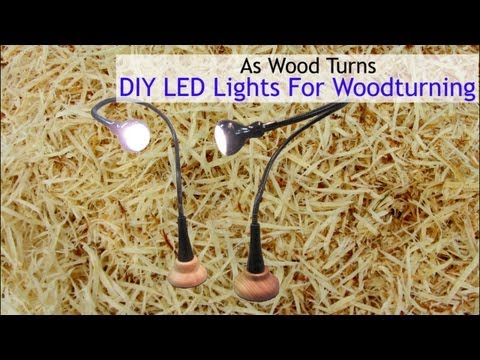 DIY LED Lights For Woodturning