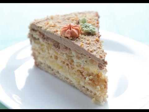 Как приготовить киевский торт - видео