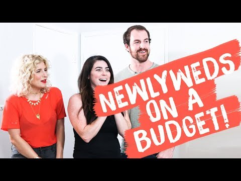 Under $400 Newlyweds Living Room/ Dining Room Makeover | Mr. Kate Decorates On A Budget
