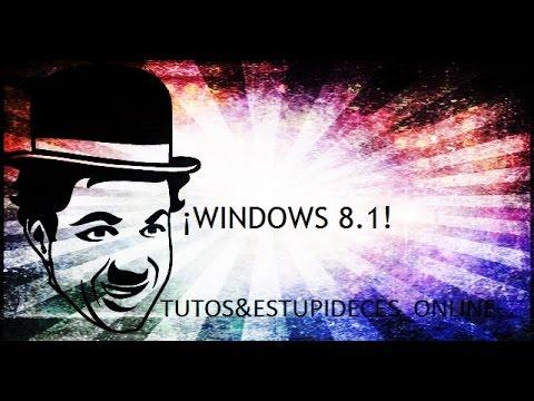 COMO DESCARGAR E INSTALAR WINDOWS 8.1 PRO FULL EN ESPAÑOL 32BITS Y 64BITS + ACTIVADOR