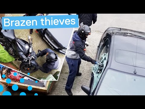 Motorbike Theft in London Foiled by Owner