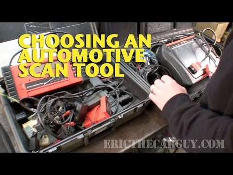 Choosing an Automotive Scan Tool -EricTheCarGuy