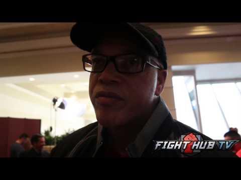 Virigl Hunter gives update on Andre Ward