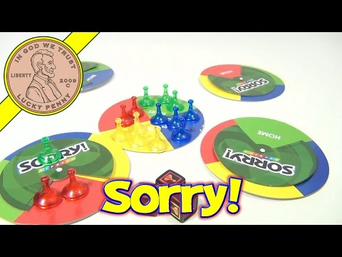 Sorry Express Travel Board Game, 2007 Hasbro Parker Brothers Toys - Pawn Swapping Frenzy Game!