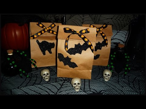 Bolsas para Halloween, decoracion fiesta de brujas, bolsa ...