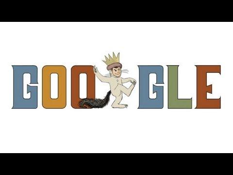 Maurice Sendak - Google Doodle