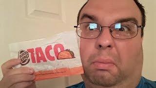 Burger Kings New Crunchy Taco Food Review