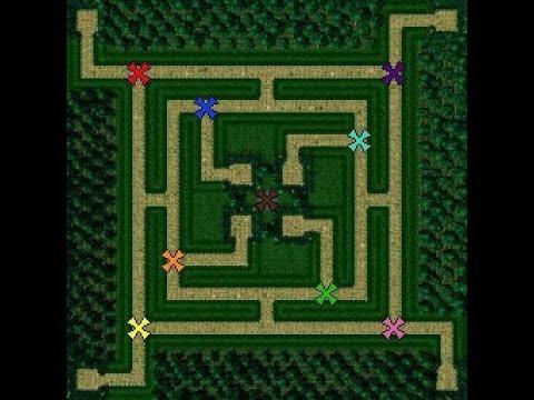 Green Circle TD Защита Башен - Custom Maps Dota 2