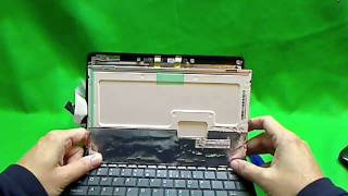 ASUS Eee PC 1005HA Laptop Screen Replacement Procedure
