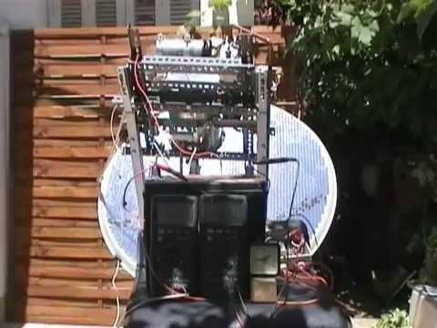 Ηλιακη Μηχανη ΙΔ -SOLAR MACHINE(steam turbine)