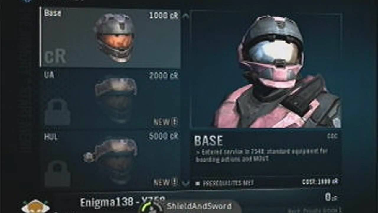 Halo Reach Armor Customizer Halo Reach Beta Armor