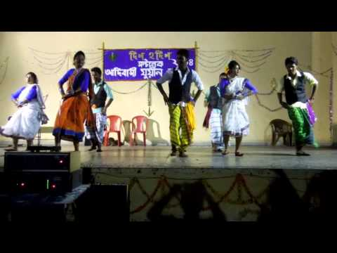 K.b K.c Salt Lake Santhali Program 1 video