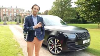 Range Rover SV Autobiography Review and Road Test