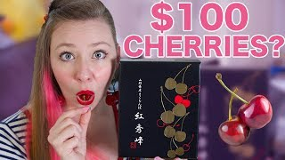 What do $100 Cherries Taste Like?