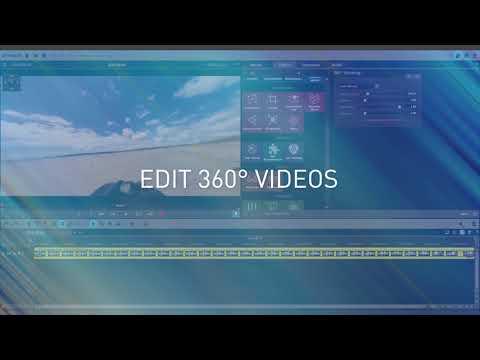MAGIX Movie Edit Pro - 360° video editing Tutorial (2019)