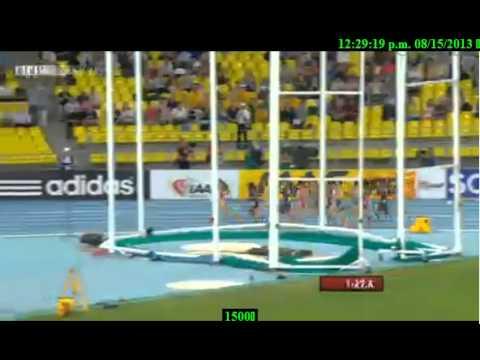 Moscow 1500M Women Final IAAF World Championships