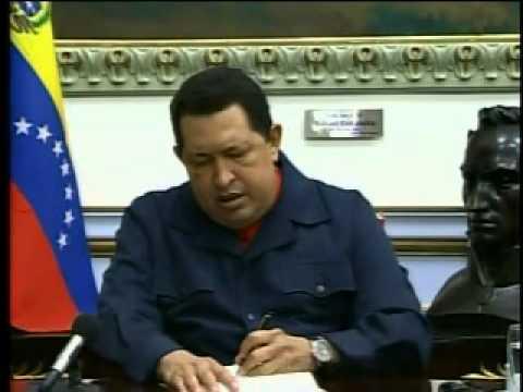 Chávez se despide y nombra a Maduro como sucesor