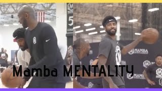 Kobe Bryant Showing His Moves to Kyrie Irving - Mamba Pro Camp