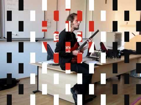 Alex Machacek - kitarska delavnica glasbenešole Takt Ars - 1. del