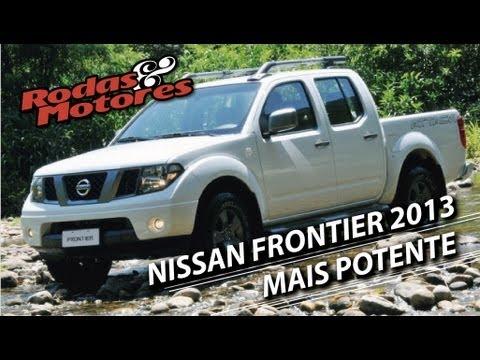 Rodas & Motores - Nissan Frontier 2013. motor mais potente e mais segurança - 04 de março de 2012