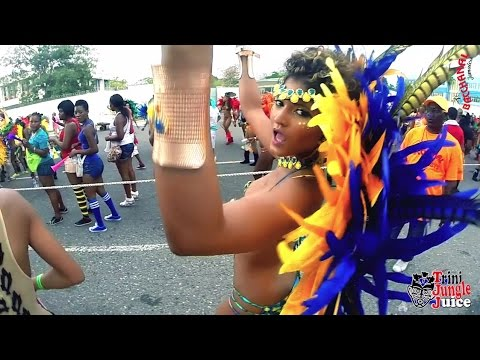 Bacchanal Jamaica Carnival 2015 Road March - Part 2