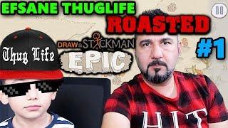 ÖYLE BİR THUGLIFE YAPTI Kİ! ÇİZDİKLERİMİZ CANLANDI 1! | Draw a Stickman: EPIC