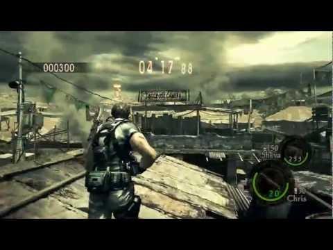 Resident Evil 5 - Mercenários Drogados