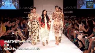AARTIVIJAY GUPTA / ILK / GAGA by TANYA SHARMA - LAKME FASHION WEEK WINTER/FESTIVE 2014