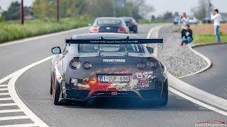 Supercars Accelerating - 750HP Liberty Walk GT-R, Liberty Walk 458, Aventador, Akrapovic M4,...
