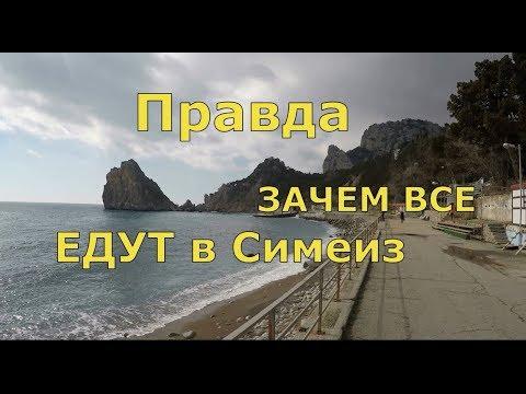 🔴🔴 Как ВЫГЛЯДИТ Симеиз сегодня ? 🔴🔴 Что теперь с ПЛЯЖЕМ ? Крым 2018