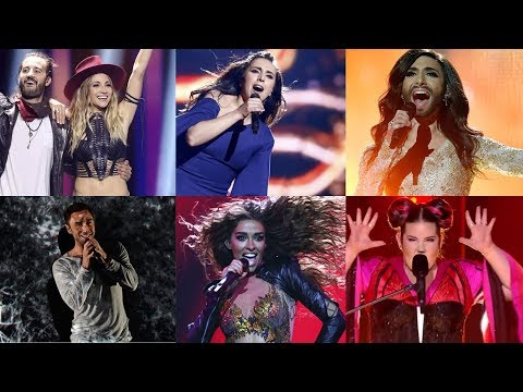 Eurovision 2010 - 2019 - 200 Memorable Moments (part 1)