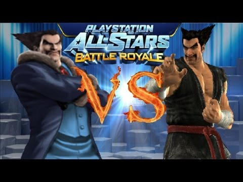Playstation All Stars Battle Royale: bluedeepdive vs GPT96 (Round 1) (Commentary) (PS3)