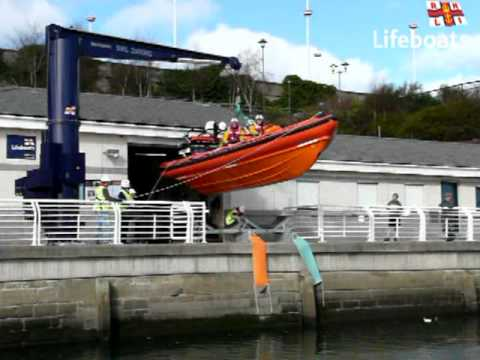 RNLI Sunderland - Launch of Atlantic 85 Inshore Lifeboat