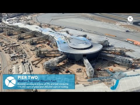 April Roundup: Construction of Abu Dhabi Airport's Midfield Terminal Building reaches 46% completion